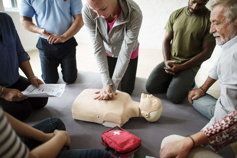 hjärtlungräddning-utbildning