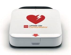 hjärtstartare Lifepak wifi cr2