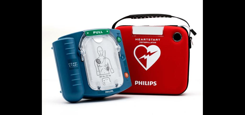 Philips heartstart hs1 hjärtstartare